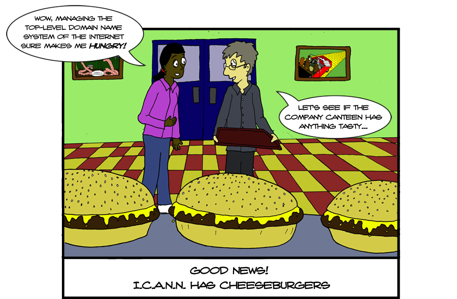 ICANN is not to be confused with the iCan, a redesigned and overpriced food & drink storage device from Apple.