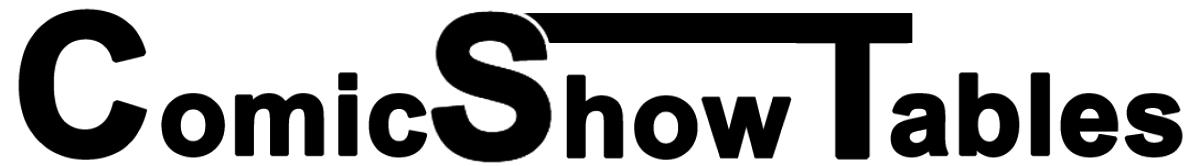 ComicShowTables