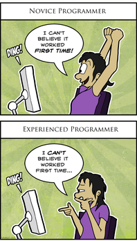 Mmm, this comic is OK, but not great. I'll give it a C++