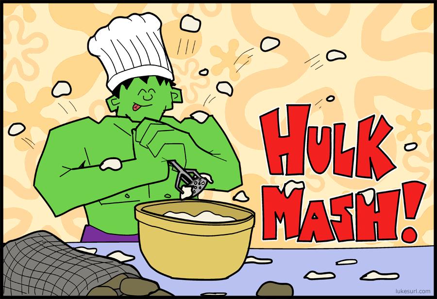 It's the monster mash!