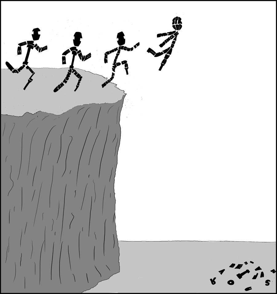 A leap of faith?
