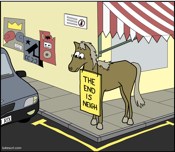 For us humans, the horse apocalypse will be a total 'mare.