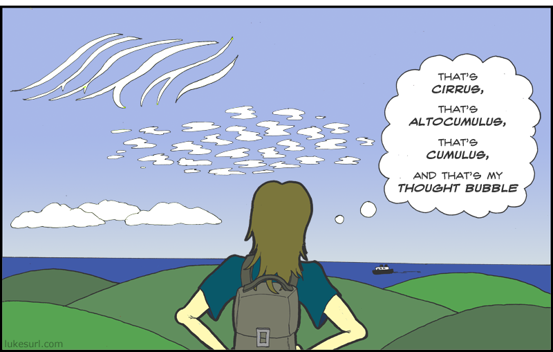 Which cloud type is most sure on its feet? NIMBLE-stratus